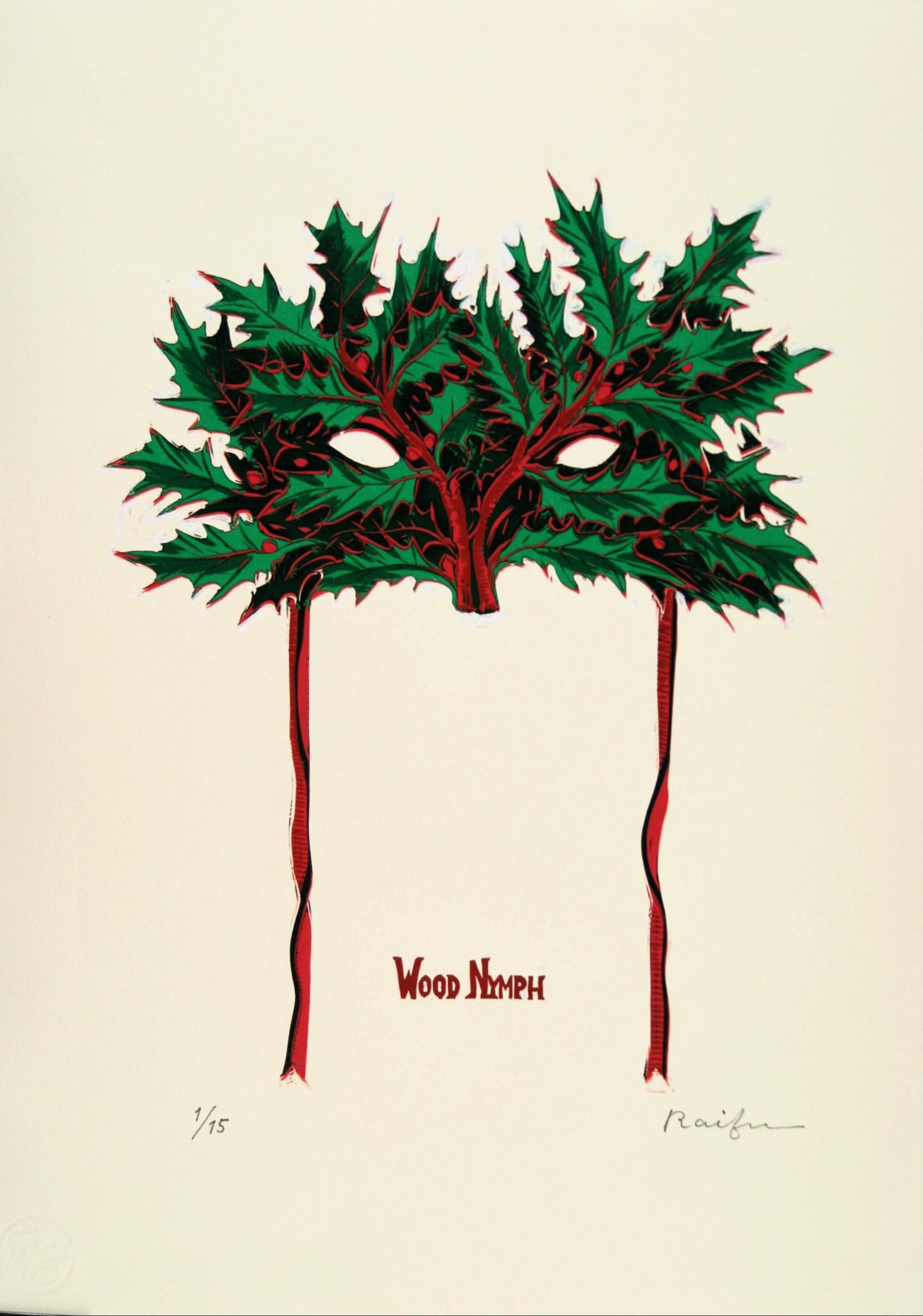森の精の仮面