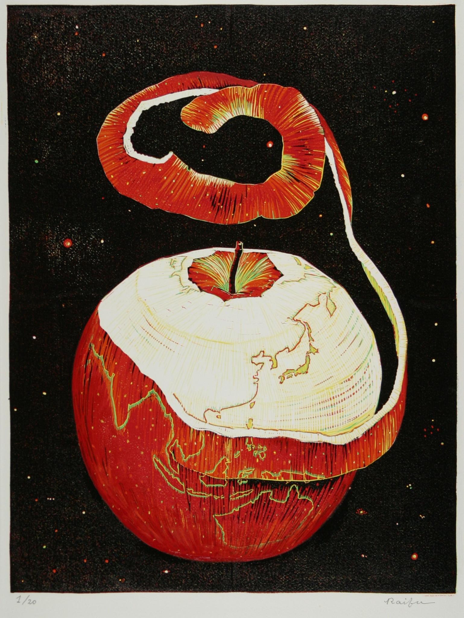 三月のりんご