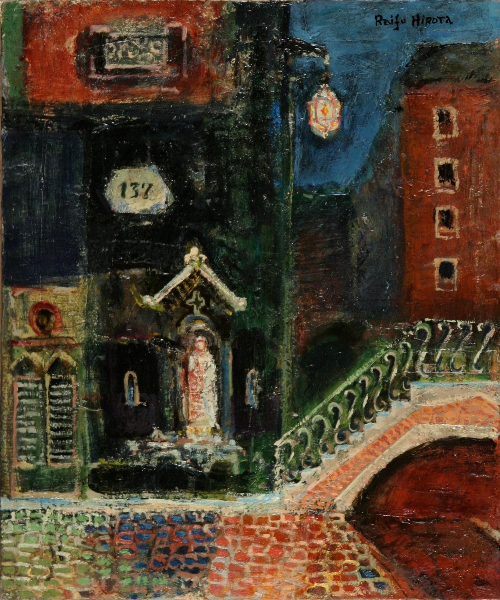 ヴェネチアの街角