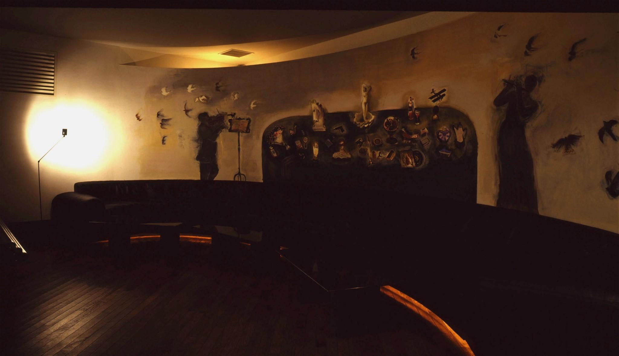 ブルーミンバー壁画